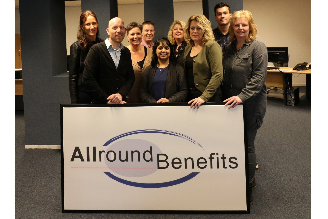 Allround Benefits B.V. teamfoto